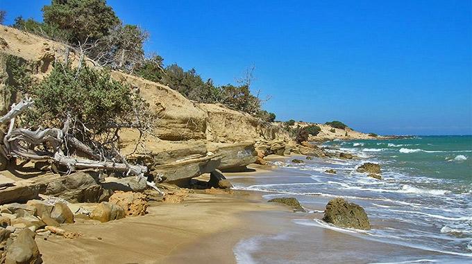 Παραλίες στην Γαύδο | Λαύρακας | Πύργος | Ποταμός